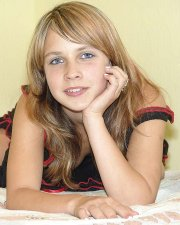 blond eighteen year old from the ukraine